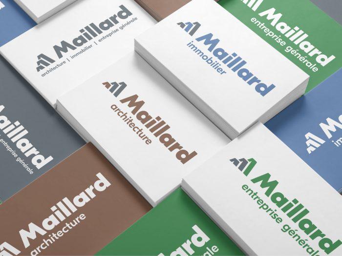 Maillard nouvelles identités Logos